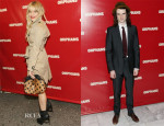 Sienna Miller & Tom Sturridge In Burberry - 'Orphans' Broadway Opening Night