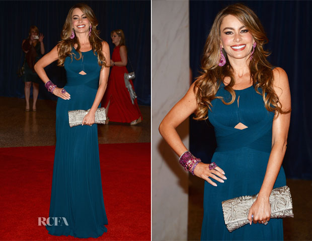 Sofia Vergara In Herve L Leroux - 2013 White House Correspondents' Association Dinner
