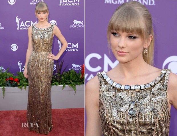 Taylor Swift In Dolce & Gabbana - 2013 ACM Awards
