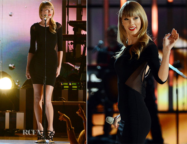Taylor Swift In Elizabeth and James - ACM Presents Tim McGraw's Superstar Summer Night