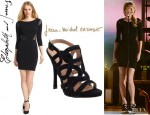 Taylor Swift's Elizabeth and James 'Roxy' Dress And Jean-Michel Cazabat 'Orla' Sandals