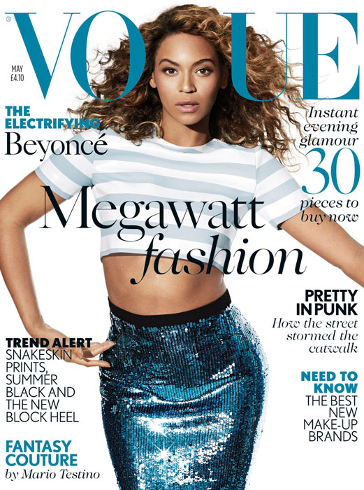 Vogue UK Beyonce Knowles May 2013