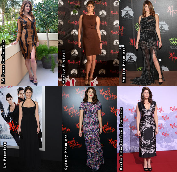 Which Was Your Favourite Gemma Arterton Look From The 'Hansel and Gretel Witch Hunters Promo Tour