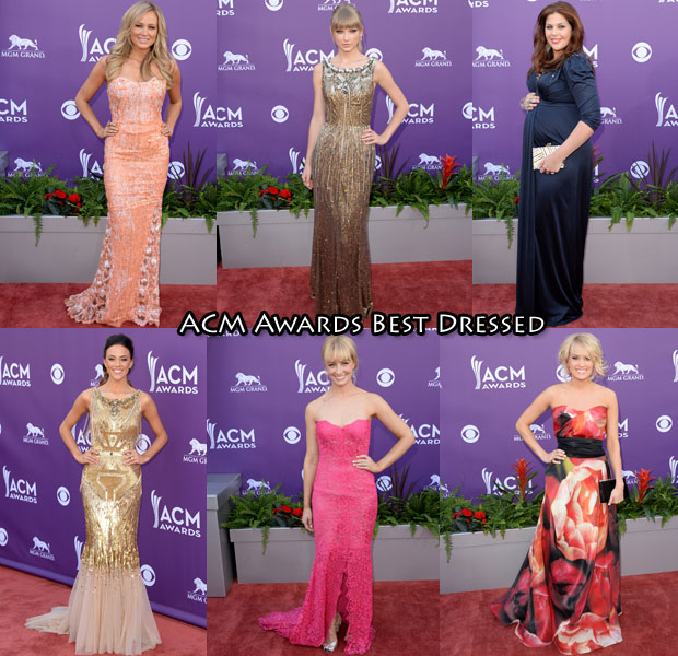 Who Was Your Best Dressed At The 2013 ACM Awards?