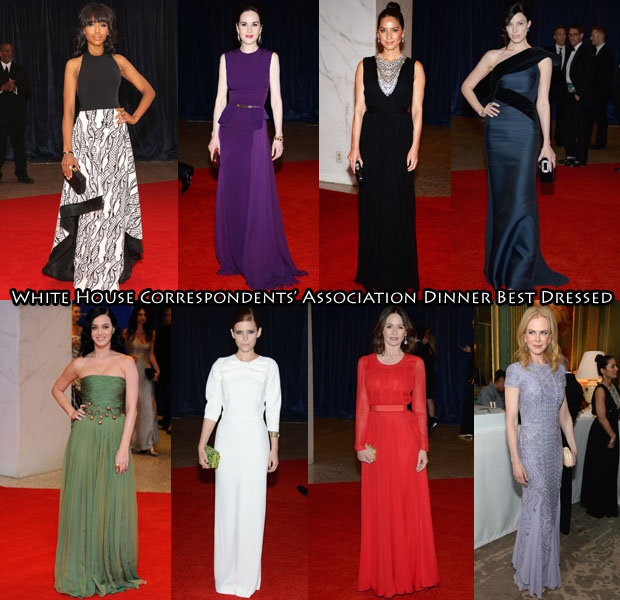 Who Was Your Best Dressed At The 2013  White House Correspondents' Association Dinner