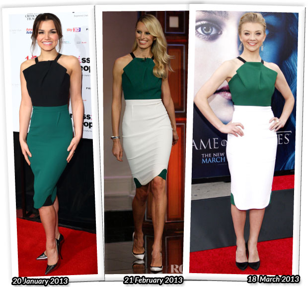 Who Wore Roland Mouret Better Samantha Barks Karolina