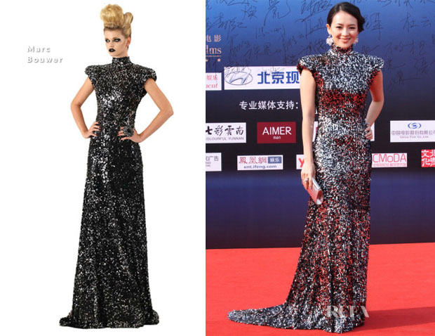 Zhang Ziyi In Marc Bouwer - 4th China Film Directors' Guild Awards