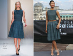 Zoe Saldana In Calvin Klein - 'Star Trek Into Darkness' Berlin Photocall