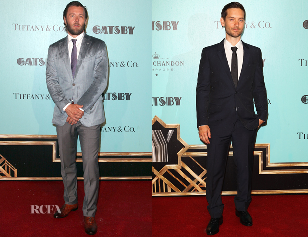 'The Great Gatsby' Sydney Premiere Menswear Round Up