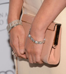 Olivia Munn's Jimmy Choo 'Cayla' clutch