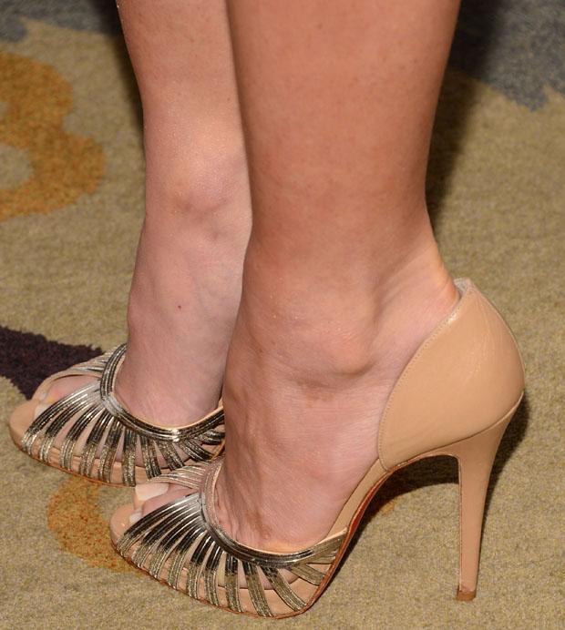 Olivia Munn's Christian Louboutin Corpus pumps