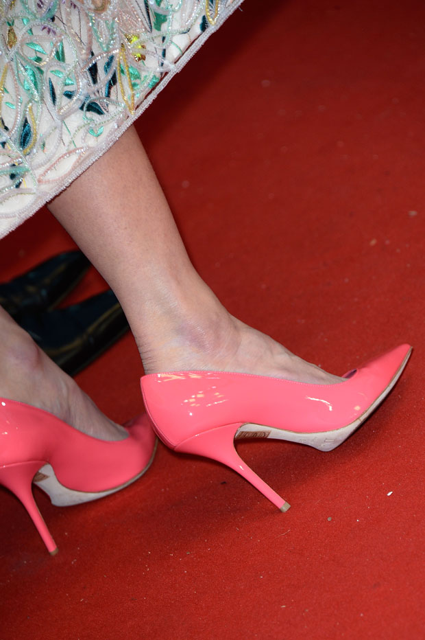 Nicole Kidman's Dior shoes