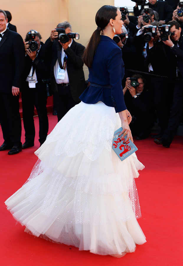 Berenice Bejo in Alexis Mabille Couture