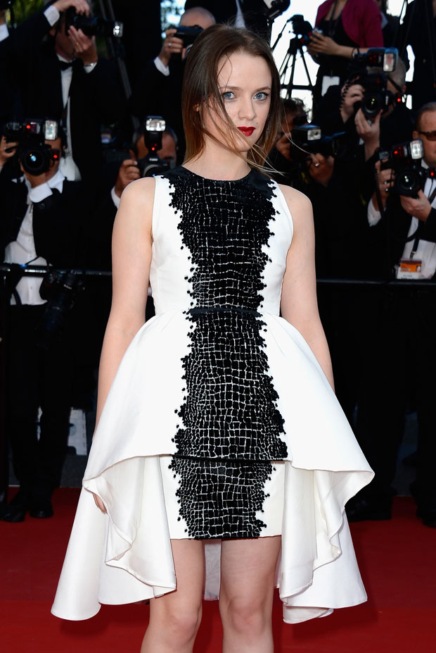 Sara Forestier in Giambattista Valli Couture