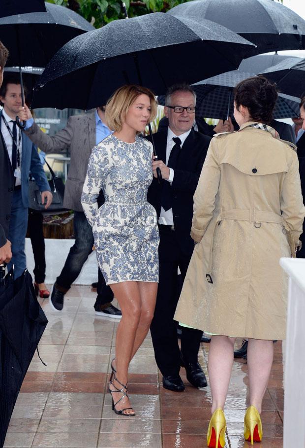 Lea Seydoux in Valentino