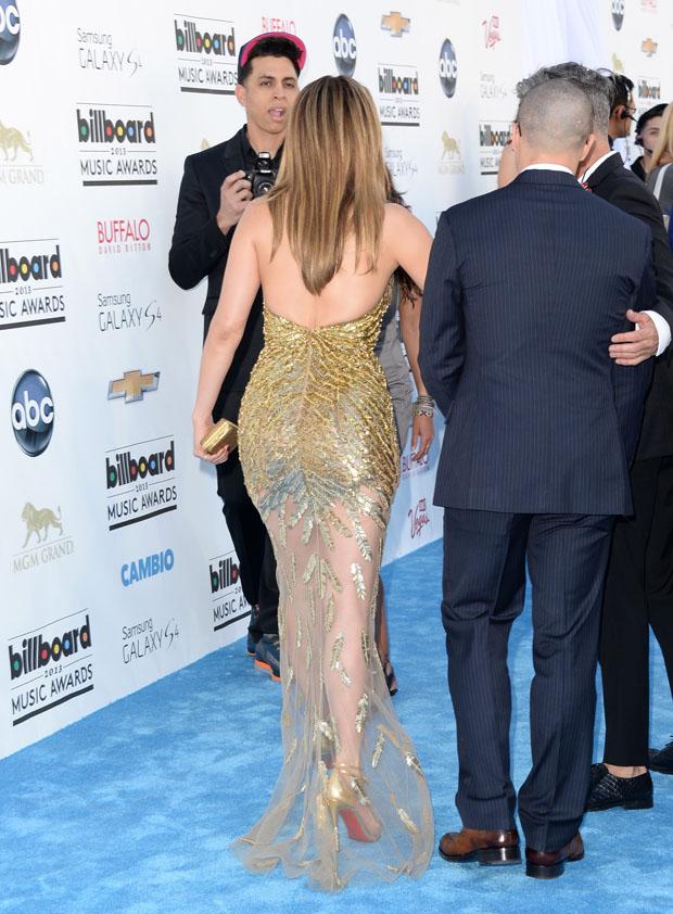 Jennifer Lopez 2013 Billboard Music Awards Red Carpet