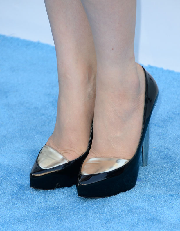 Carly Rae Jepsen's Gio Dev shoes