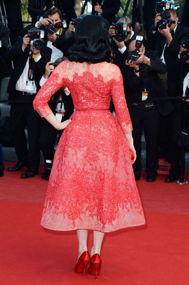 Dita Von Teese in Elie Saab Couture