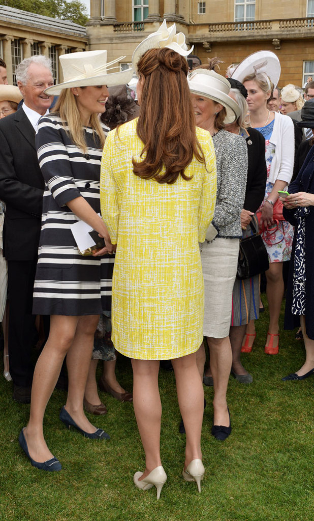 Catherine, Duchess of Cambridge in Emilia Wickstead