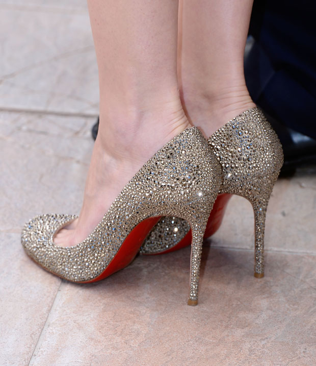 Marion Cotillard's Christian Louboutin shoes