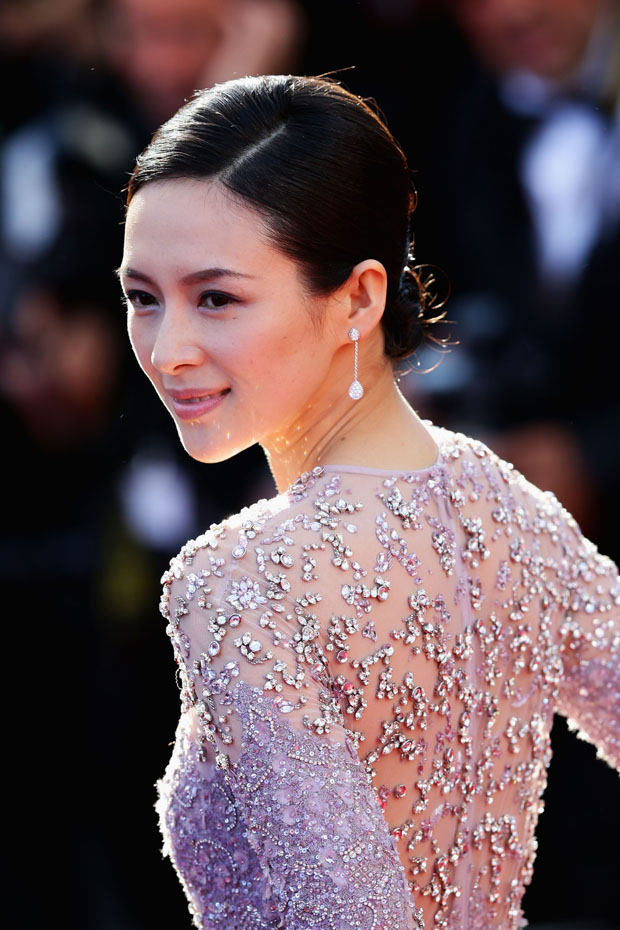 Zhang Ziyi in Elie Saab Couture
