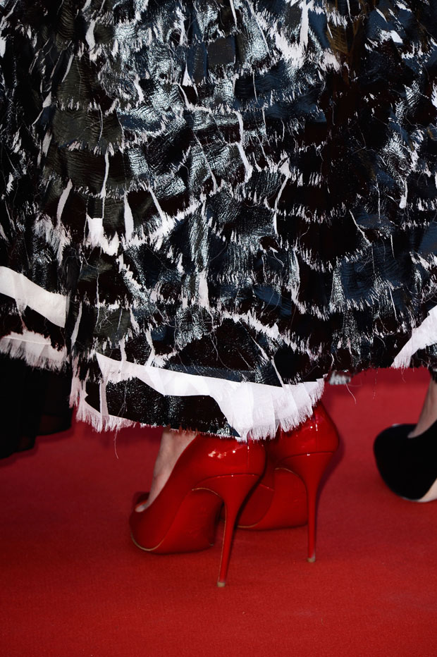 Nicole Kidman's Christian Louboutin shoes