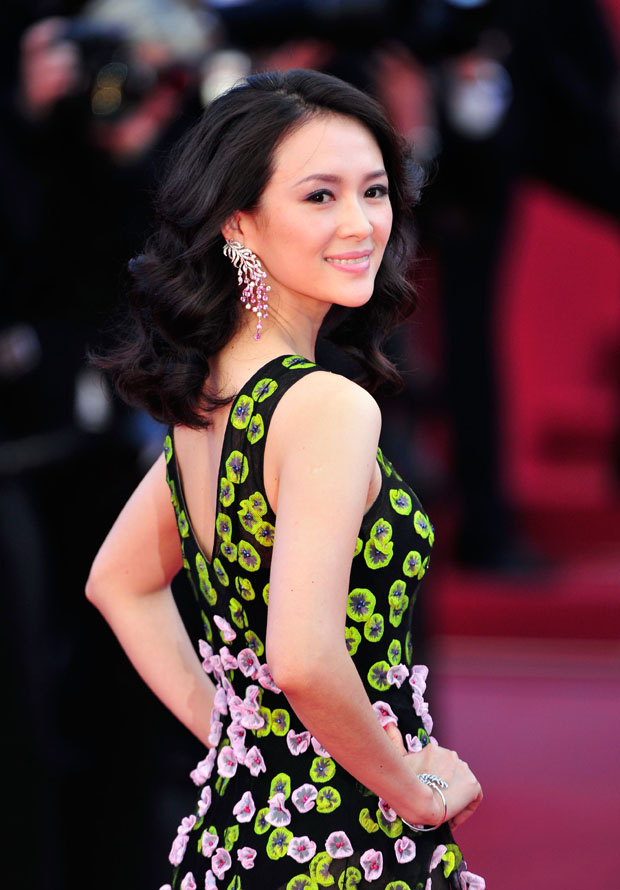 Zhang Ziyi in Christian Dior Couture