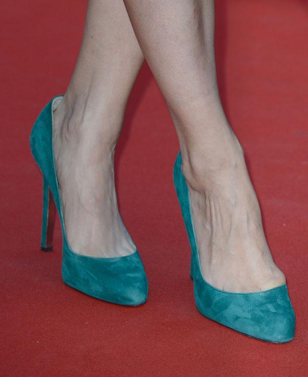 Berenice Bejo's Elie Saab shoes