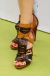 Nieves Alvarez' Christian Louboutin booties