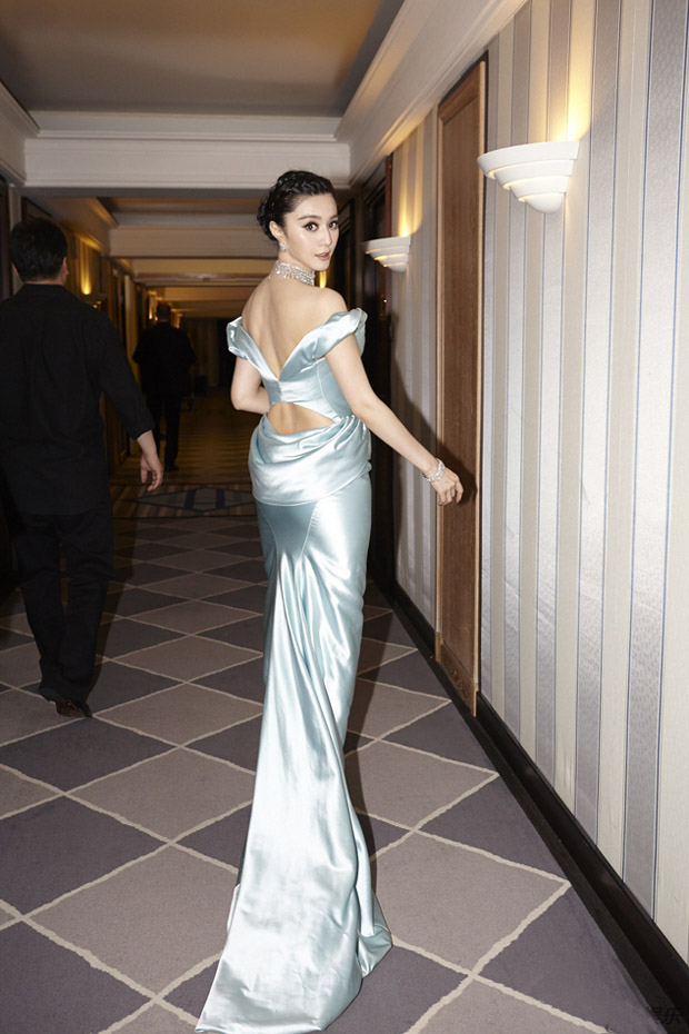 Fan Bingbing in Ulyana Sergeenko Couture