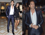 Adrien Brody In Roberto Cavalli - Vanity Fair and Chanel Dinner
