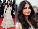 Aishwarya Rai In Abu Jani and Sandeep Khosla - 'Blood Ties' Cannes Film Festival Premiere