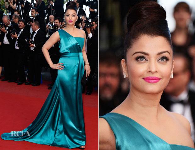 Aishwarya Rai In Armani Privé -  'Cleopatra' Cannes Film Festival Premiere