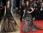 Aishwarya Rai In Elie Saab Couture - 'Inside Llewyn Davis' Cannes Film Festival Premiere