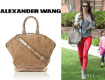Alessandra Ambrosio's Alexander Wang 'Emile' Tote