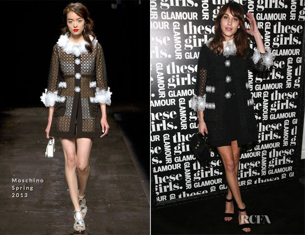 Alexa Chung In Moschino - Glamour Presentation of 'These Girls'