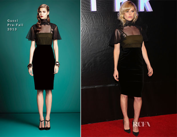 Alice Eve In Gucci - 'Star Trek Into Darkness' Mexico Premiere