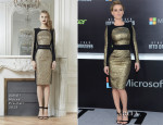 Alice Eve In Zuhair Murad - 'Star Trek Into Darkness' LA Premiere