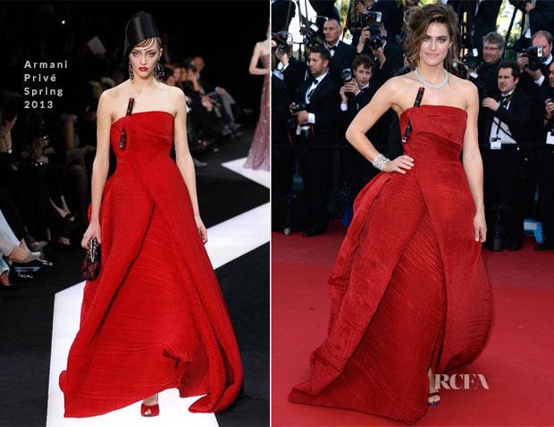 Allison Williams In Armani Privé -  'Blood Ties' Cannes Film Festival Premiere