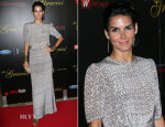 Angie Harmon In Rebecca Vallance - 38th Annual Gracie Awards