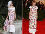 Anna Wintour In Chanel Couture - 2013 Met Gala
