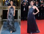 Araya A. Hargate In Salvatore Ferragamo - 'All Is Lost' Cannes Film Festival Premiere