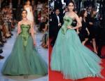Araya A. Hargate In Zac Posen - 'Cleopatra' Cannes Film Festival Premiere