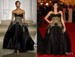Ashley Greene In Marchesa - 2013 Met Gala
