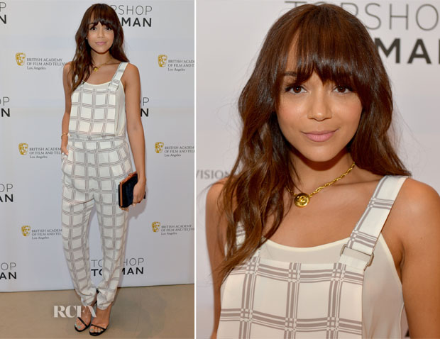 Ashley Madekwe In Topshop - BAFTA Los Angeles and Sir Philip Green Celebrate the British New Wave at Topshop Topman at The Grove