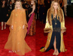 Ashley Olsen In vintage Dior & Mary-Kate Olsen In vintage Chanel - 2013 Met Gala
