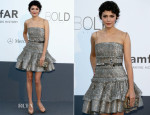 Audrey Tautou In Lanvin - amfAR Cinema Against AIDS Gala