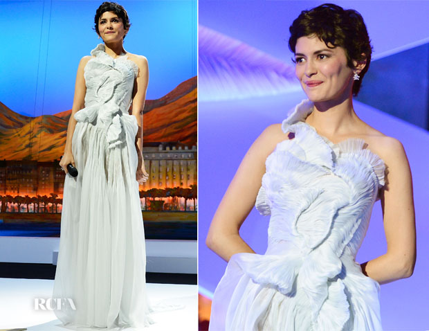 Audrey Tautou In Yiqing Yin - 2013 Cannes Film Festival Opening Ceremony
