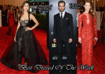 Best Dressed Of The Week - Nina Dobrev In Monique Lhuillier, Chris Pine In Ralph Lauren & Amber Heard In Emilio Pucci