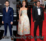 Best Dressed Of The Week - Nicole Kidman In Christian Dior Couture, Chris Pine In Ralph Lauren & Jamie Redknapp In Thom Sweeney